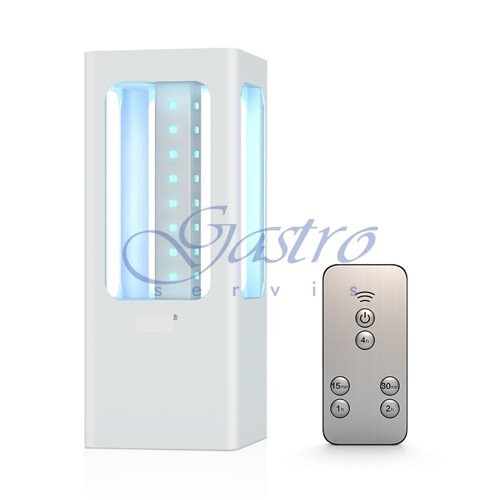 UV LED lampa germicídna - prenosná, 360°
